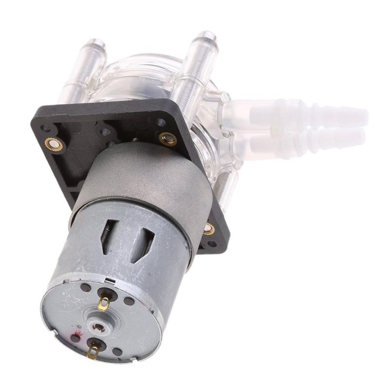1 шт. Перистальтический насос дозатор для защиты от коррозии всасывающий насос вакуумный насос серебро 24V