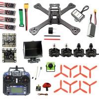 TX5 210 210mm 2.4G RC RaceR Mini Quadcopter Drone ARF SP F3 Caddx Turbo S1 Night Camera 5.8G VTX FPV Goggles Monitor