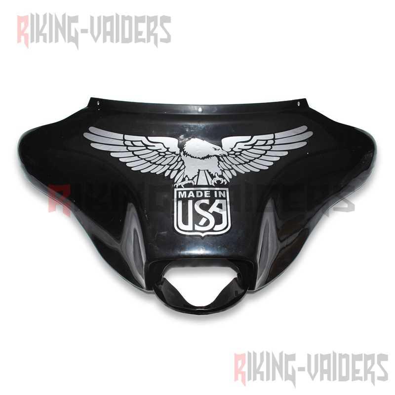 Üst Fairing Çıkartmaları Kartal Kafatası Alev Çıkartmaları Için Harley Electra Glide Ultra Klasik Ultra Sınırlı Sokak Glide 1996-2013