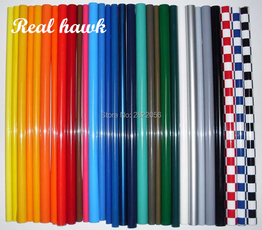 50Meters/Lot Hot Shrink Covering Film Model Film For RC Airplane Models DIY High Quality Factory Price image