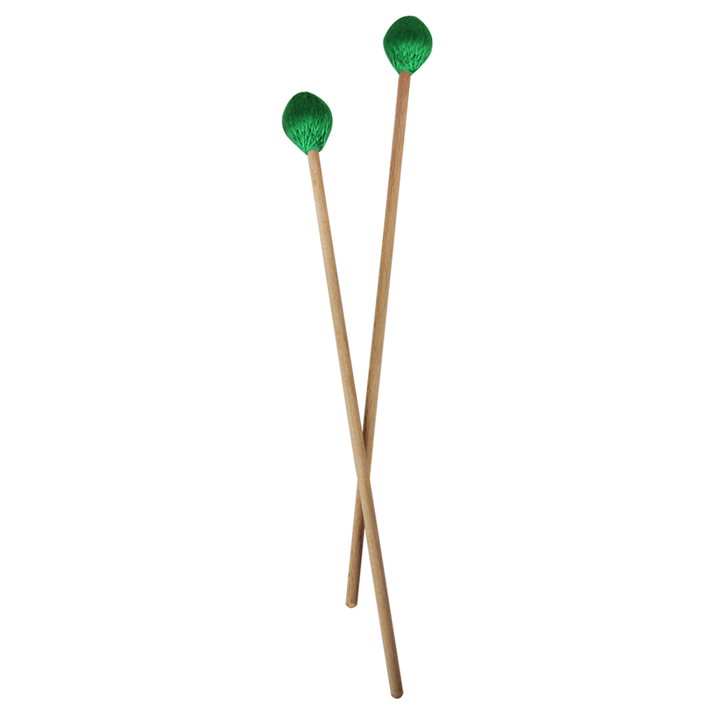 1 Pair of Marimba Mallets with Wooden Handle for Piano Percussion Instrument