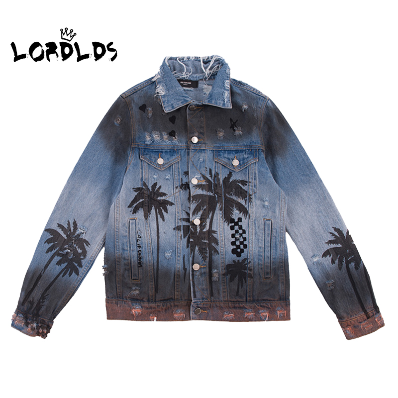 LORDLDS Jean Jackets Big-Size Women Ladies Coats Spring Fashion New Turn-Down-Collar
