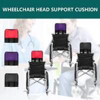 Red Purple Black Adjustable Wheelchair Head Cushion Pillow Heightening Wheelchair Accessories Chair Head Support