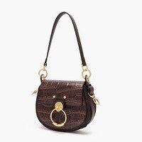 2019 bag For Women Cowhide Genuine leather mochila Messenger bag luxury Handbags Famous brand designer Bags Lady Crossbody bag
