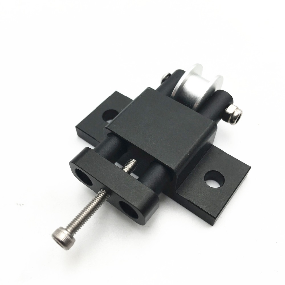 1pcs AM8/ Anet A8 Aluminum Y Axis Belt Tensioner Kit For AM8 3D Printer Extrusion Metal Frame