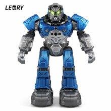LEORY R5 умный робот программируемый образование Авто музыка танец RC робот часы следование жесту сенсорные игрушки для детей подарок