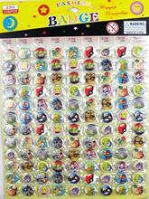 108 adet/takım Pokemon Pikachu çocuk Karikatür Broş Pin Rozeti 25 MM 2.5 CM Toptan