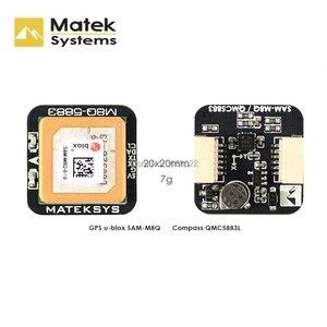 Image 1 - Matek systèmes originaux Ublox M8Q 5883 GPS et QMC5883L, avec Module de boussole pour Drone de course FPV, longue portée