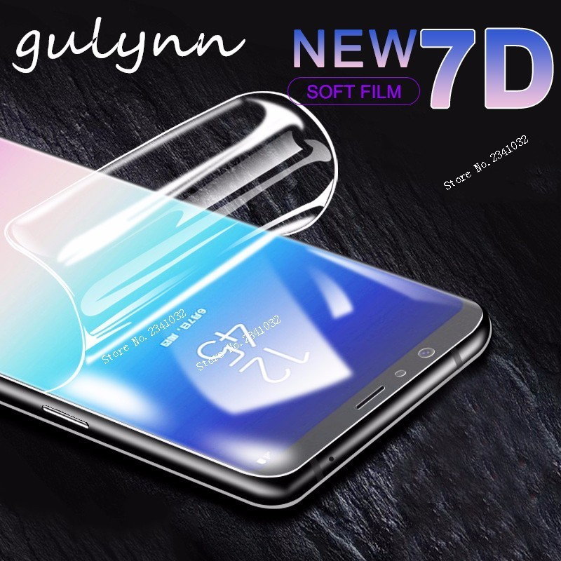 7D Full Cover Screen Protector Film For Samsung Galaxy S10 10E J 3 4 6 A 6 8 7 Plus 2018 M10 20 Soft Protective Film Not Glass in Phone Screen Protectors from Cellphones Telecommunications