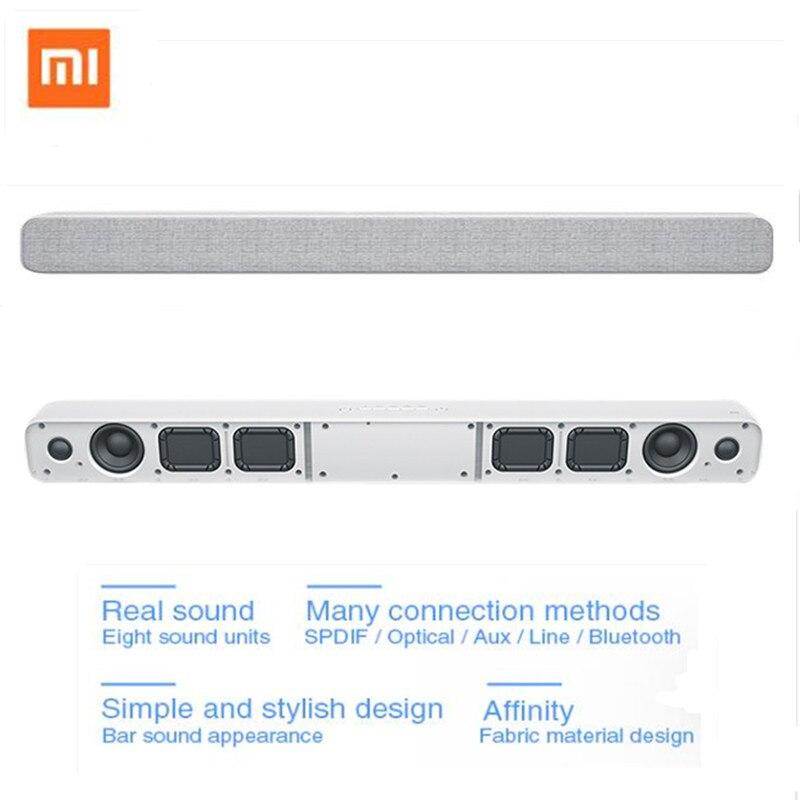 Original Xiaomi Bluetooth Wireless TV Sound Bar Speaker Soundbar Support Bluetooth Playback Optical SPDIF AUX IN for Home