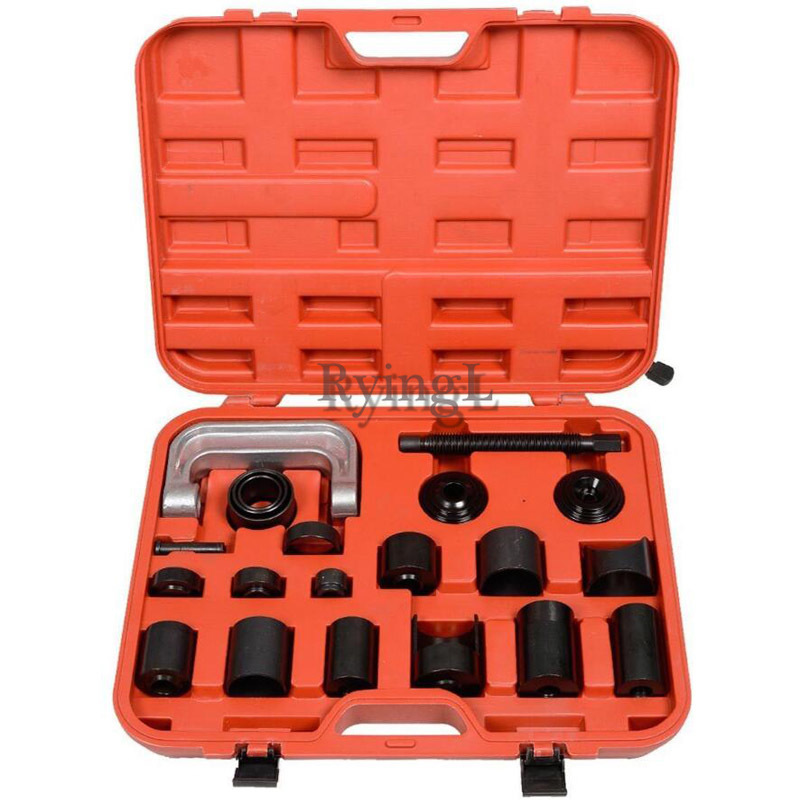 L 21Pcs Universal Ball Joint Separator Auto Repair Service Tool Remover Master Adapter 4x4s Cars Press