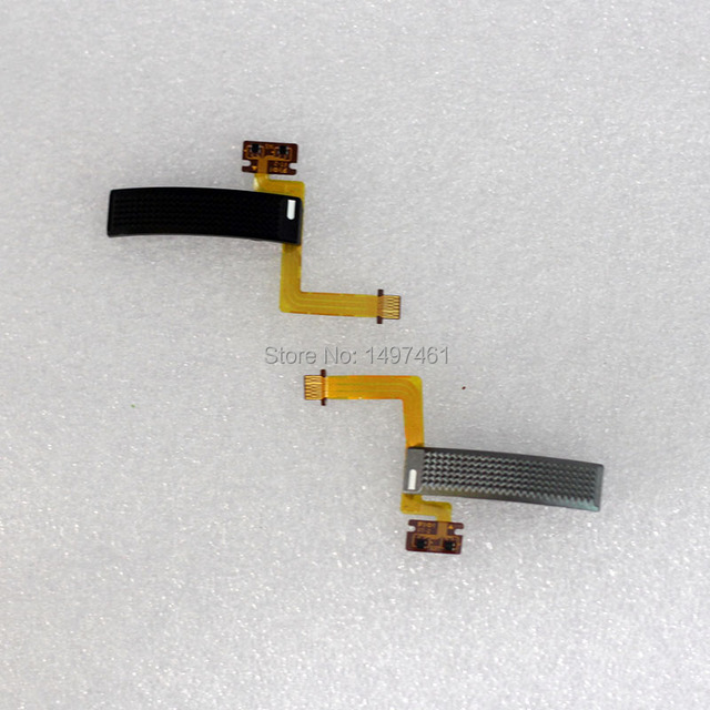 Серебристый и черный переключатель зума в сборе с запасной частью кабеля для объектива Sony E PZ 16 50 f/3,5 5,6 OSS(SELP1650)