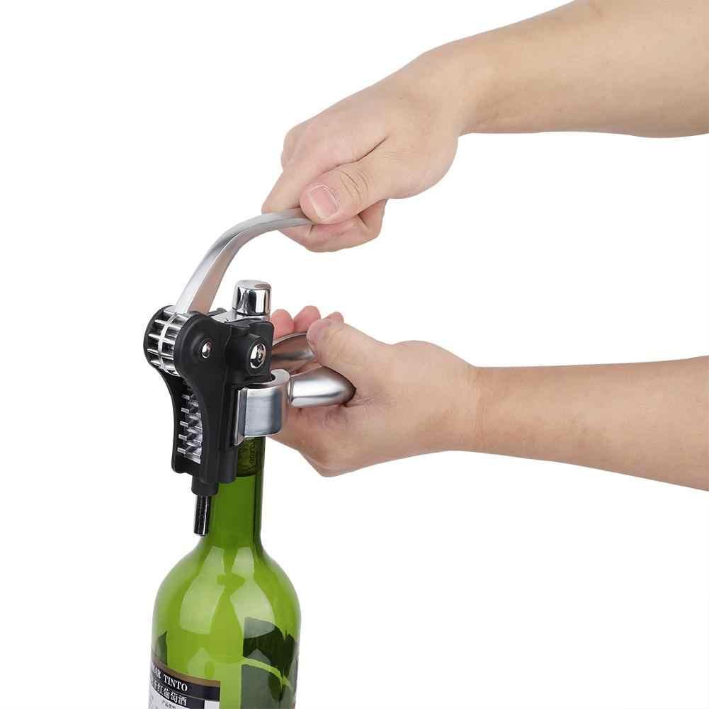نبيذ فاخر عدة أدوات فتاحة الزجاجات الفلين النبيذ سدادة بالتنقيط توقف الدائري الحفر مسمار الفلين خارج أداة ل أدوات على شكل زجاجات النبيذ مجموعة مربع