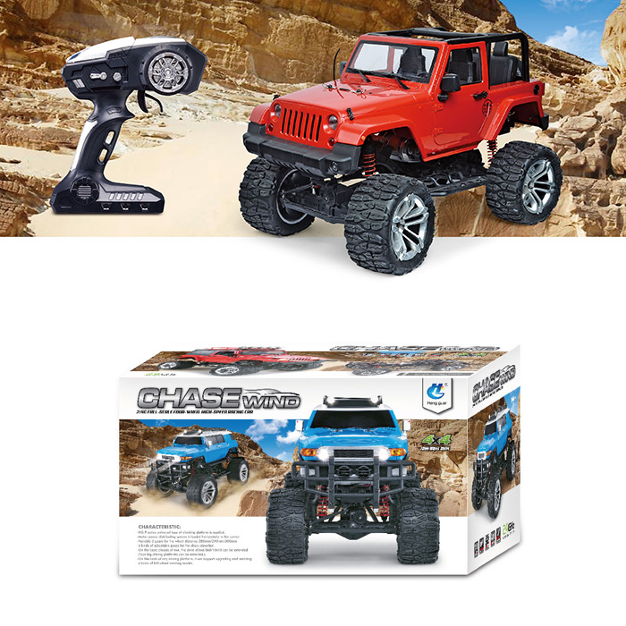 HG - P406 1/10 RC Climbing Car Convertible 2.4G Remote Control RC Cars Toy Shockproof + Accurate Detection System Toys GiftsHG - P406 1/10 RC Climbing Car Convertible 2.4G Remote Control RC Cars Toy Shockproof + Accurate Detection System Toys Gifts