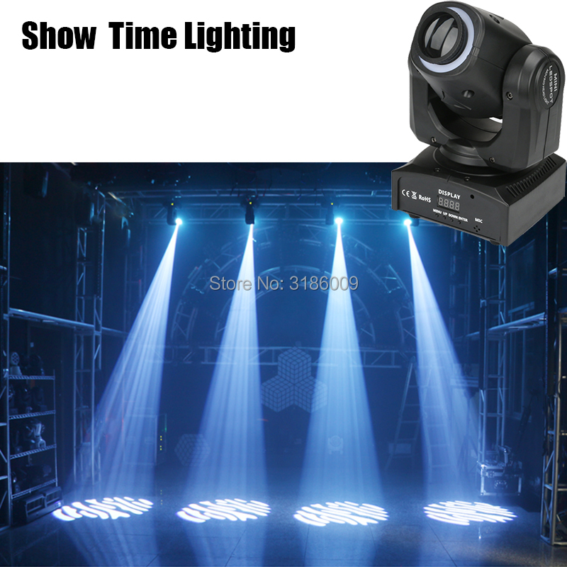 promotion disco led spot moving head with led strip dj lights use for home entertainment KTV Party dance Show Time lighting in Stage Lighting Effect from Lights Lighting