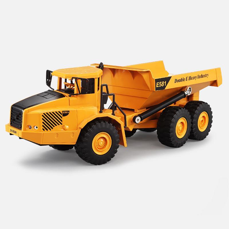 Jouet voiture modèle grande télécommande articulé camion à benne basculante modèle de transport ingénierie de voiture grand camion basculement voiture seau