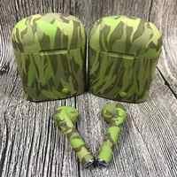 EastVita Camouflage i7s TWS Mini Wireless Bluetooth Kopfhörer Stereo Ohrhörer Headset & 750mA Lade Box Mic Für Smart telefon r25