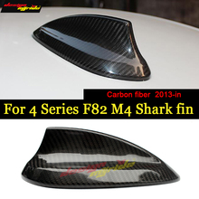 4-Series F82 Car Roof Antenna Cover Shark Fin Carbon For BMW M4 420i 428i 430i 435i Styling 2013-in