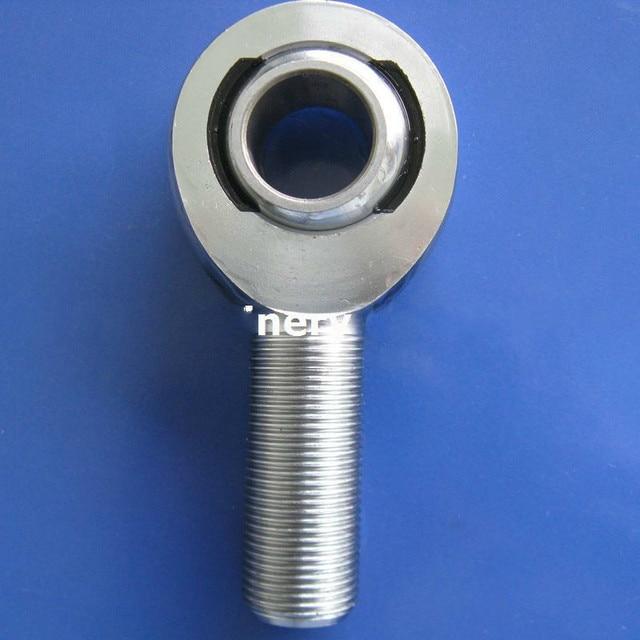 2PCS MXMR18 XMR-M18 XML-M18 Male Rod Ends 18 x M18x1.5 Chromoly Steel Heim Joints Right Hand MXM18 Rose Joint Bearings
