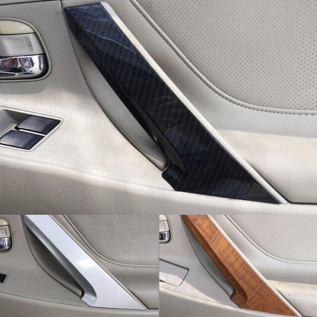 Manija de puerta Interior de coche, plástico ABS, para Toyota Camry 2006, 2007, 2008, 2009, 2010, 1 ud.