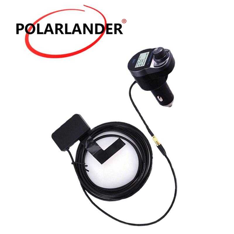 FM transmetteur chargeur USB mains libres | Bluetooth, chargeur USB 5V/2,4a, adaptateur Audio d'antenne sans fil pour voiture, DAB/DAB + récepteur Radio