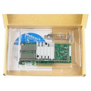 Image 4 - FANMI 10GBase PCI Express x8 82599ES чип, двойной порт, Ethernet сетевой адаптер E10G42BTDA,SFP не входит в комплект