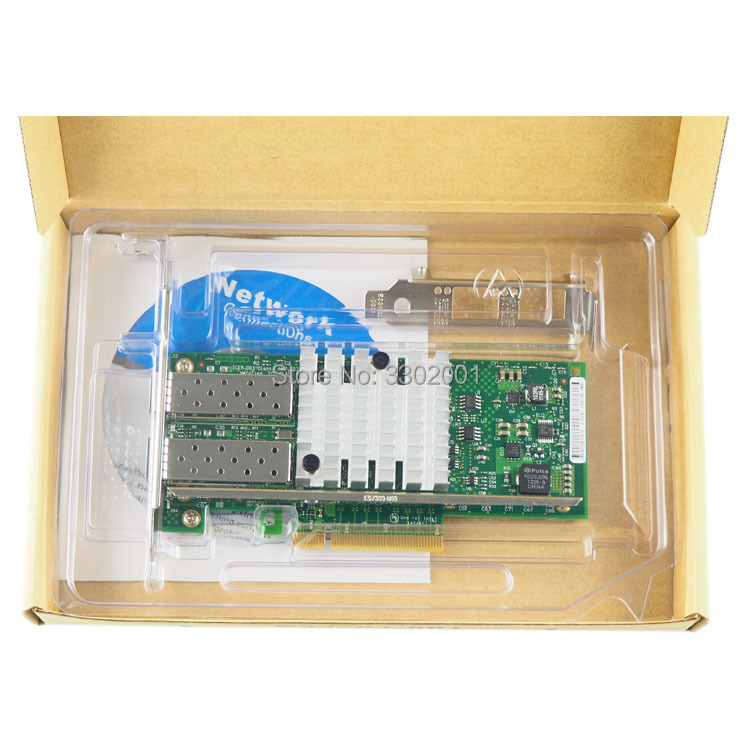 Image 4 - FANMI  X520 DA2 10GBase PCI Express x8 82599ES Chip Dual Port Ethernet Network Adapter E10G42BTDA,SFP not included-in Network Cards from Computer & Office