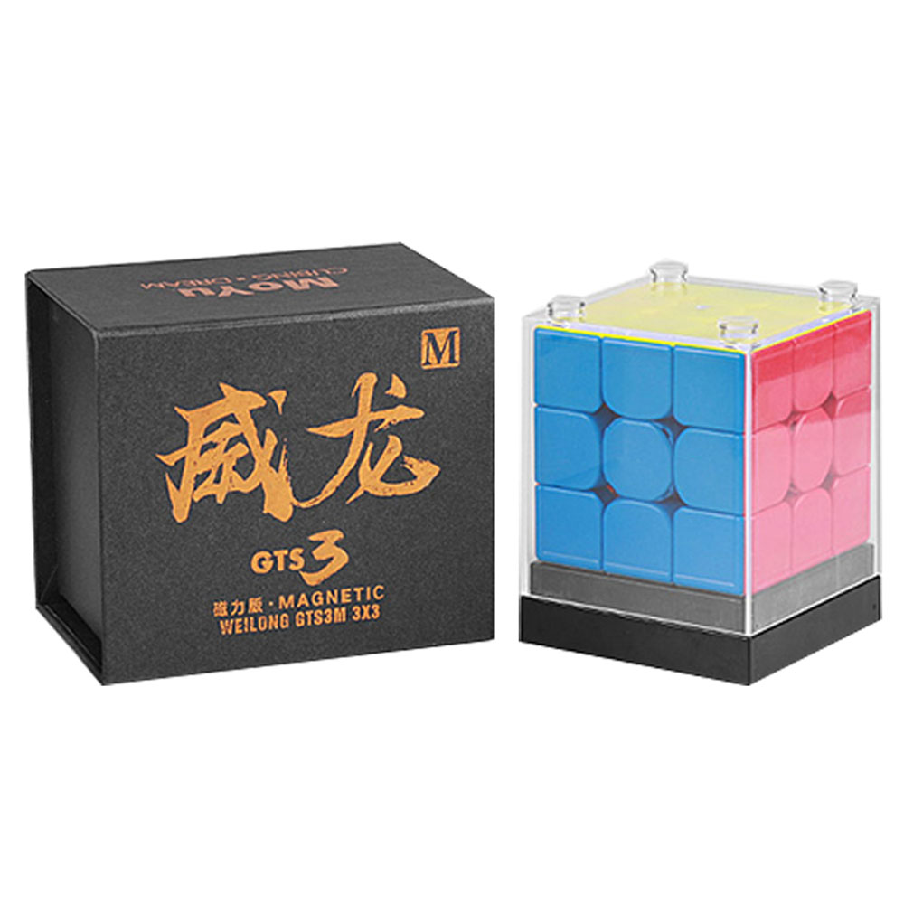 Moyu WeiLong GTS V3M Magnetic Cube Magic Cube Puzzle 3x3 Speed Cube Weilong GTS 3 M/GTS3M For Children Cube ToyMoyu WeiLong GTS V3M Magnetic Cube Magic Cube Puzzle 3x3 Speed Cube Weilong GTS 3 M/GTS3M For Children Cube Toy
