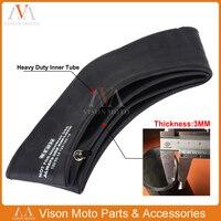 Motorcycle Butyl Rubber 18 19 21 Heavy Duty Inner Tube 3MM Tire 100/90 18 120/100 18 100/90 19 120/100 19 90/90 21 80/100 21