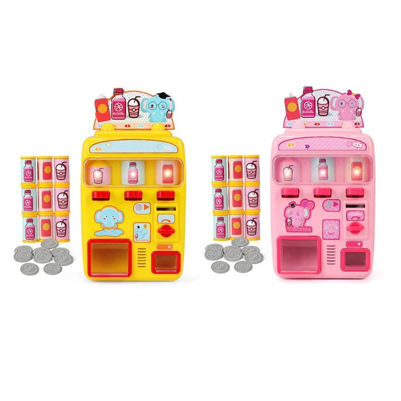 0-3 Jahre Baby Pädagogisches Spielzeug Automaten Simulation Shopping Haus Set Lebensmittel Spielzeug Für Kinder Aromatischer Charakter Und Angenehmer Geschmack