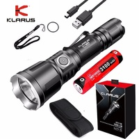 2018 NEW Klarus XT11X CREE XHP70.2 P2 LED 3200 Lumens Rechargeable Tactical Flashlight With Battery