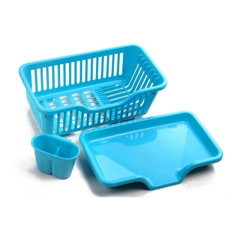 Kitchen Sink Dish Drying Rack Drainer Washing Holder Basket Organizer Tray