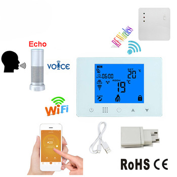 HY09RF-WiFi Wireless Mobile Phone WIFI Programmable Real Hanging Furnace Temperature sensor Controller thermostat boiler mobile phone