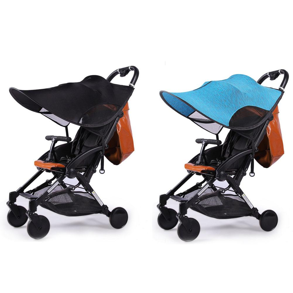 Strollers Accessories Activity & Gear Upgraded Sunshade For Baby Stroller Universal Type Parasol Sunscreen Cover For Stroller Accessories Thickened Steel Wire Strip Good Heat Preservation