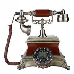 Antique Landline Phones with LCD Display Clear Sound Vintage Antique Telephone  Home Corded Vintage Telephone