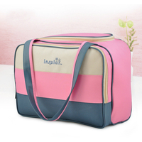 Fashion Mommy Maternity Bag Large capacity Design Diaper Luiertas Nappy Insular Nylon Bag Wet Bag For Stroller Wetbag Baby Care