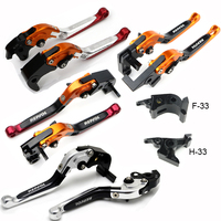 For HONDA CBR1000RR CBR 1000RR 2004 2005 2006 2007 Motorcycle Foldable Extendable Clutch Brake Levers Aluminum With REPSOL Logo