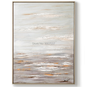 100% hand painted brown oil painting Home decoration high quality abstract paintings modern wall art for living room decor