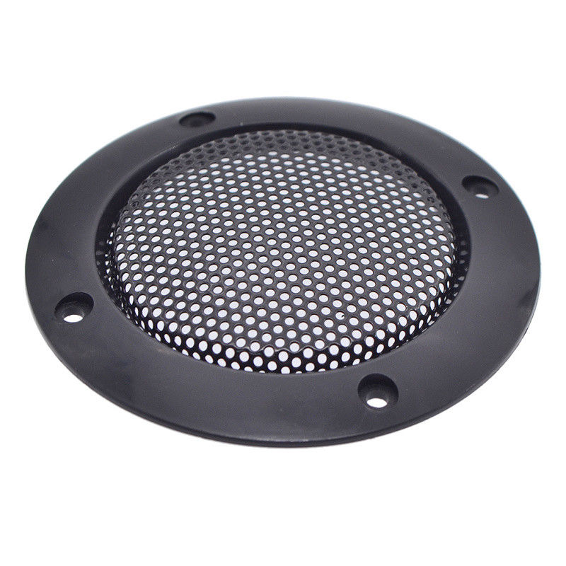 2pcs/lot 3Inch Black Replacement Round Speaker Protective Mesh Net Cover Grille Circle Metal Audio Speaker Accessories