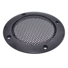 2pcs/lot 3Inch Black Replacement Round Speaker Protective Mesh Net Cover Grille Circle Metal Audio Accessories