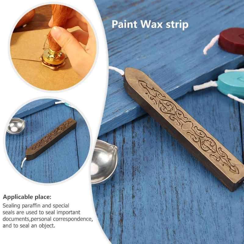 Diy Afdichting Strips Seal Gewijd Bijenwas Stok Branding Verf Stempel Seal Wax Handgemaakte Hobby Diy Tool Xmas Gift