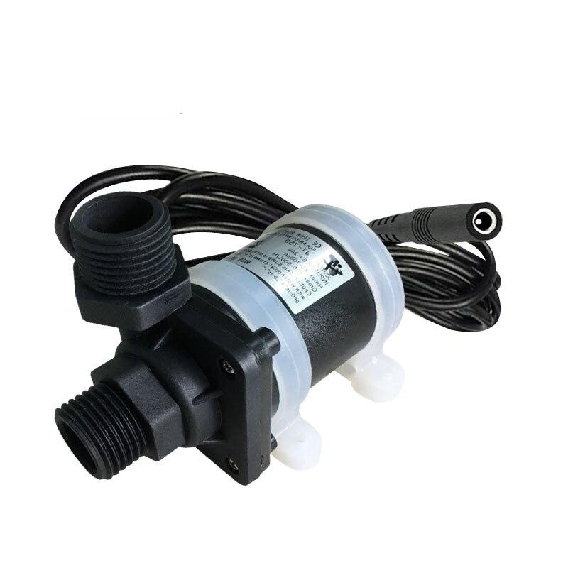 1 Pcs Mini Jt-750b4 12 V/24 V Dc Elektrische Bürstenlosen Mini Tauch Wasserpumpe Solar Energie Booster Pumpe Sanitär Pumpen, Teile Und Zubehör