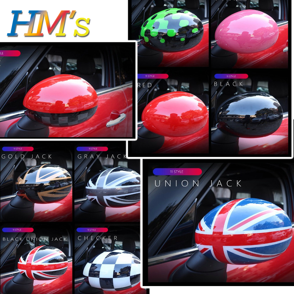 For MINI Cooper Countryman Rearview Mirror Sticker For MINI Cooper Accessories For MINI Clubman F54 Car Styling For MINI F60
