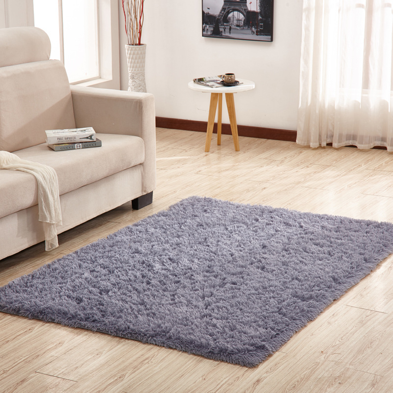 Wholesale Modern Wool Carpet Living Area Rectangular Coffee Table Sofa Bed Edge Carpet Bedroom Mats Foreign Trade Export