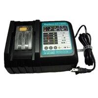 Dc18Rct reemplazo cargador de batería de iones de litio 6A corriente de carga para Makita 14,4 V 18V Bl1830 Bl1430 Bl1850 Dc18Rc Dc18Ra potencia T