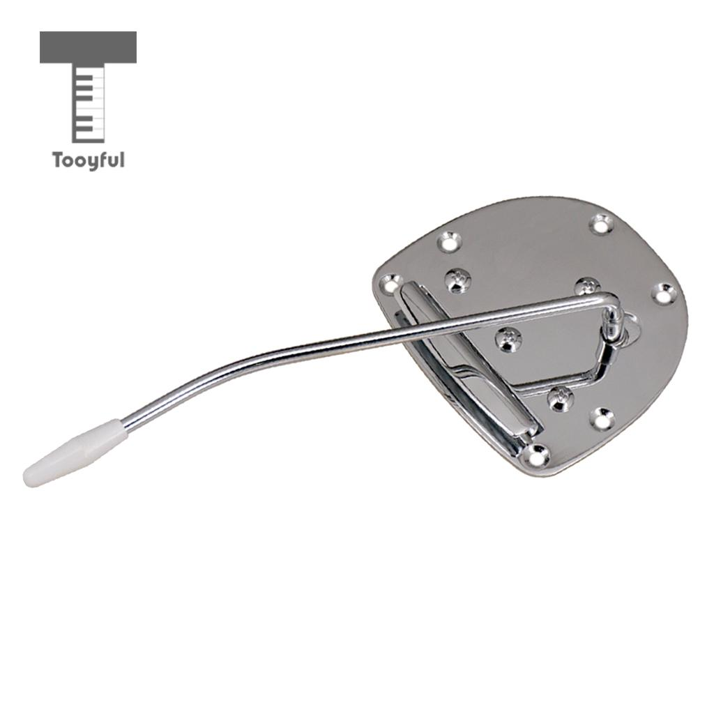 buy tooyful electric guitar tremolo bridge tailpiece with whammy bar screws for. Black Bedroom Furniture Sets. Home Design Ideas