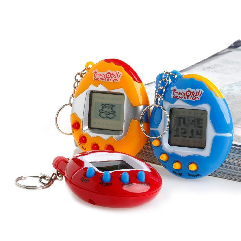 90s Nostalgic 49 Animals In A Single Virtual Cyber For Pet Toy Funny Tama Gotchi With Egg