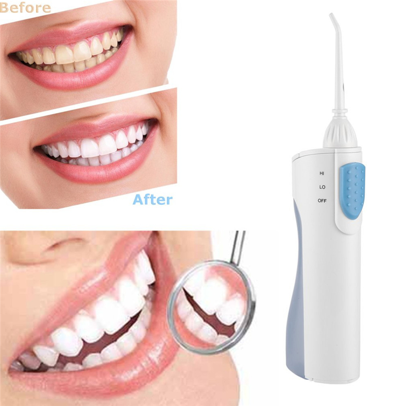 1Piece Dental Flosser Oral Hygiene Irrigator Dental Clean Tools Portable Battery Tooth Cleaner without battery