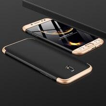 For Samsung J3 2017 J330F Case J330 Matte 360 Degree Full Protection Hard Cover Galaxy J5 J530F J72017 J730F