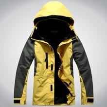 Hot Sale Men Softshell Jacket 3in1 Hiking Camping Climbing O